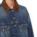 Leopard Denim Jacket, ${color}