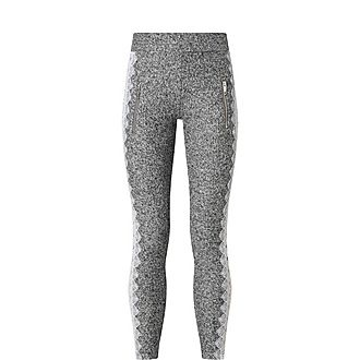 Fleece Lace Sweatpants