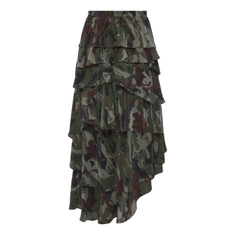 Contemporary Camouflage Skirt, ${color}