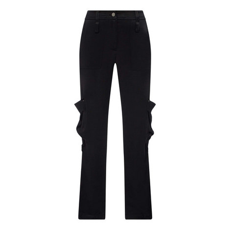 Straight-Fit Multi-Pocket Trousers, ${color}