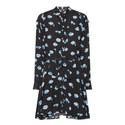 Daisy Print Short Dress, ${color}