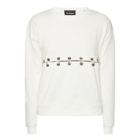 Eyelet Detail Sweater, ${color}