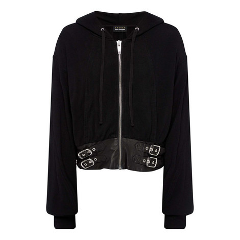 Leather Hoodie, ${color}