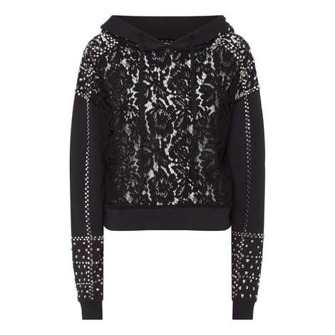 Lace and Stud Sweater, ${color}