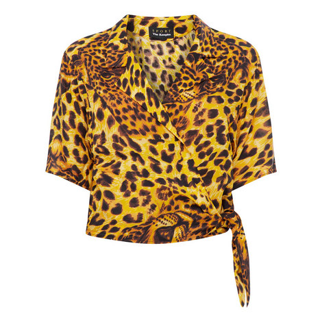 Ghost Leopard Print Top, ${color}