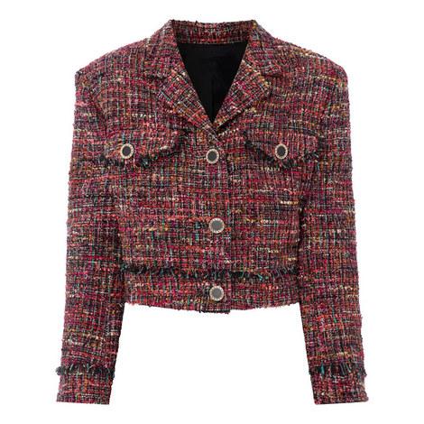 Girly Tweed Jacket, ${color}
