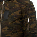 Camouflage Print Jacket, ${color}
