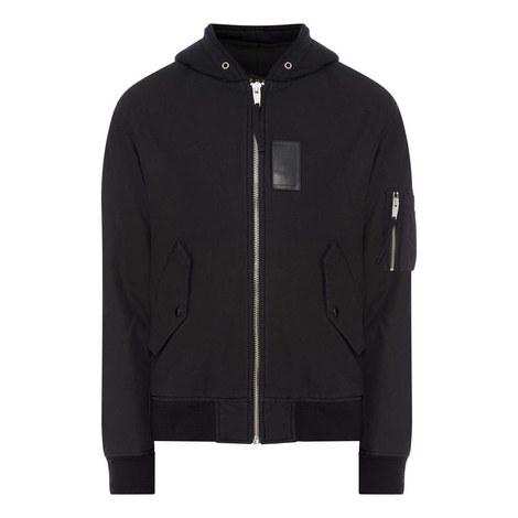 Bomber Fleece Jacket, ${color}