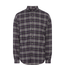 Skull Check Shirt