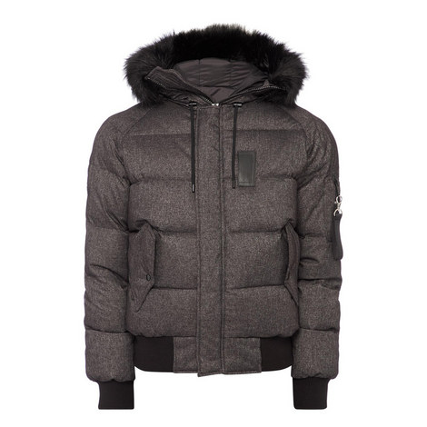 Flannel Puffa Jacket, ${color}
