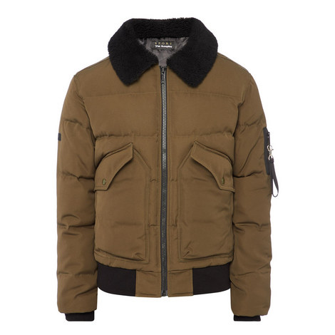 Padded Down Jacket, ${color}