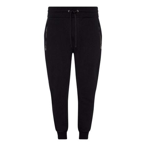 Cotton Zip Sweatpants, ${color}