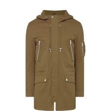 Parka Bomber Pocket Coat