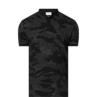 Camouflage Officer Collar Shirt