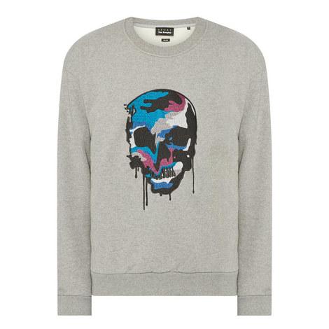 Skull Sweatshirt, ${color}