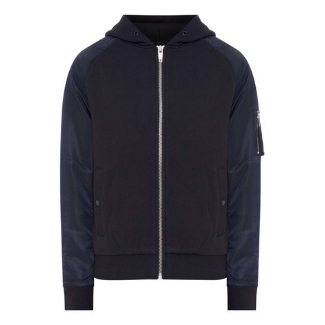 Casual Bomber Hoodie, ${color}