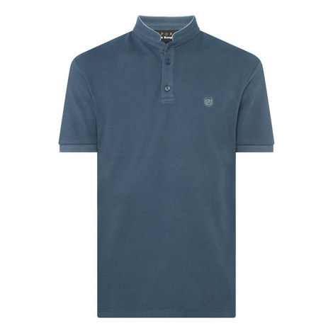 Officer Collar Polo Shirt, ${color}