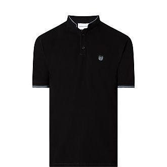 Stand Collar Polo Shirt