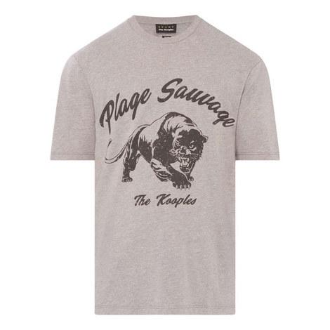 Panther Print T-Shirt, ${color}
