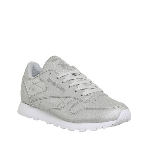 Classic Leather Diamond Trainers, ${color}
