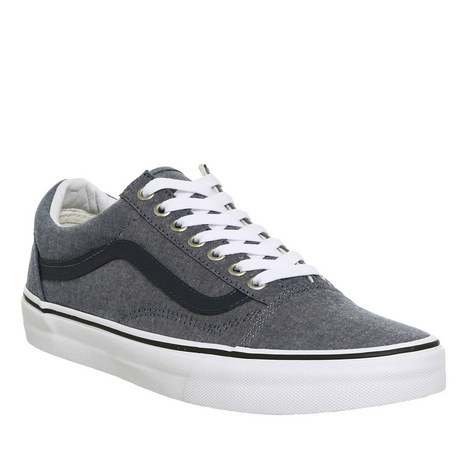 Old Skool Denim Trainers, ${color}