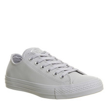 All Star Faux Leather Trainers