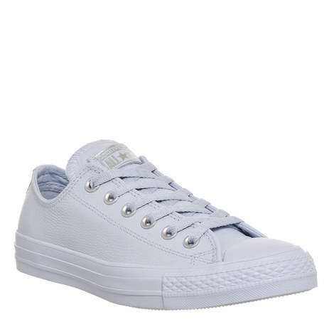All Star Faux Leather Trainers, ${color}
