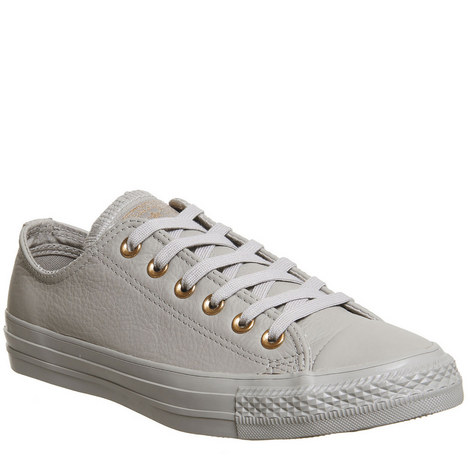 All Star Leather Low Tops, ${color}