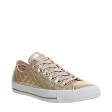 All Star Quilted Leather Trainers