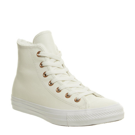 All Star Faux Fur High Tops, ${color}