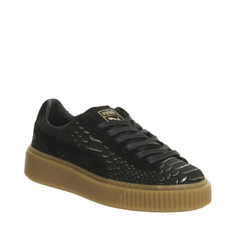 Exotic Platform Basket Trainers, ${color}