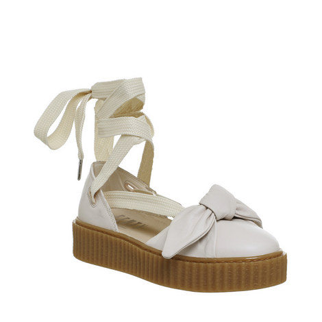 Lace-Up Ballet Bow Creepers, ${color}