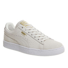 Embossed Suede Classic Trainers