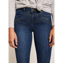 Darby Authentic Cropped Jeans, ${color}