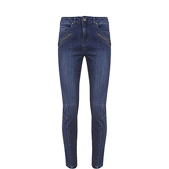 Darby Authentic Cropped Jeans