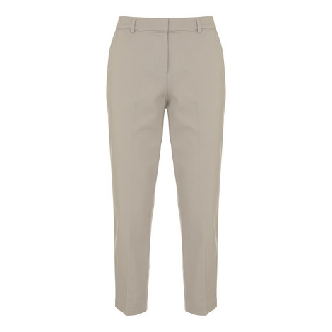 Stretch Crop Trousers, ${color}