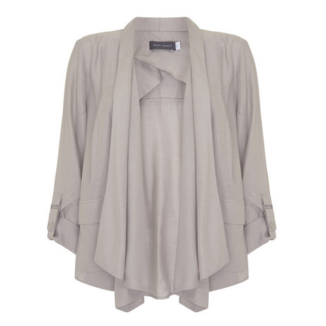 Waterfall Drape Jacket, ${color}
