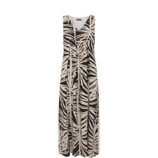 Talia Leafy Print Maxi Dress
