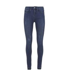 Maryland Frayed Hem Cropped Jeans