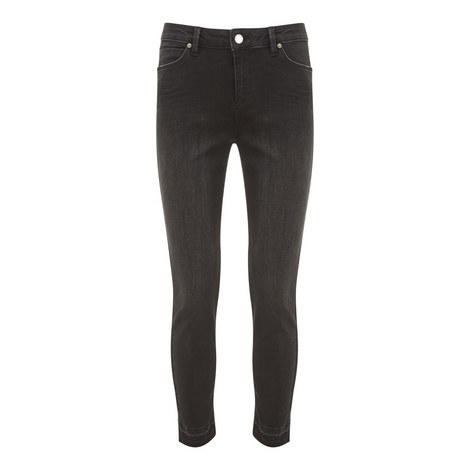 Maryland Frayed Hem Skinny Jeans, ${color}