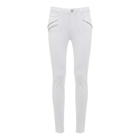 Lakewood Treble Zip Skinny Jeans, ${color}