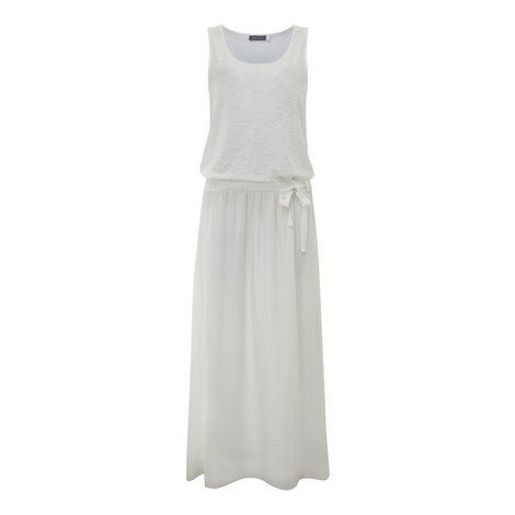 Gathered Jersey Maxi Dress, ${color}