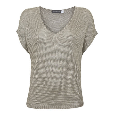 Open Stitch Slouchy Top, ${color}