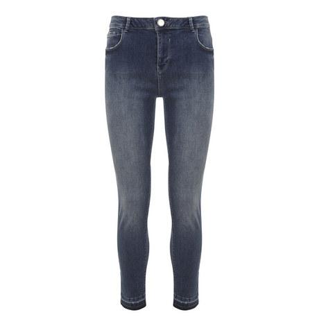 Maryland Frayed Hem Cropped Jeans, ${color}