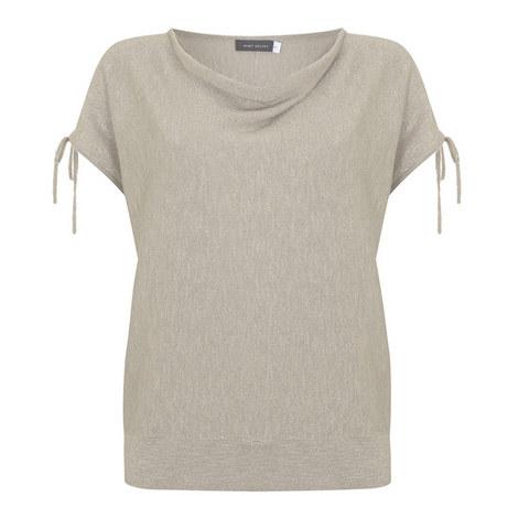 Split-Sleeve Knit Top, ${color}
