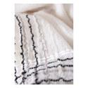 Stitched Fringe Scarf, ${color}