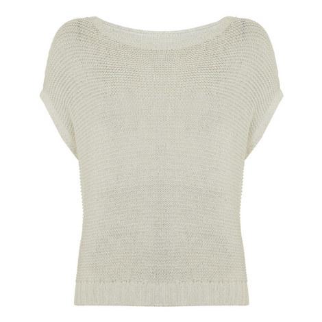 Drop Shoulder Knit Top, ${color}