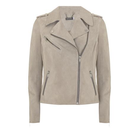 Multi Zip Biker Jacket, ${color}