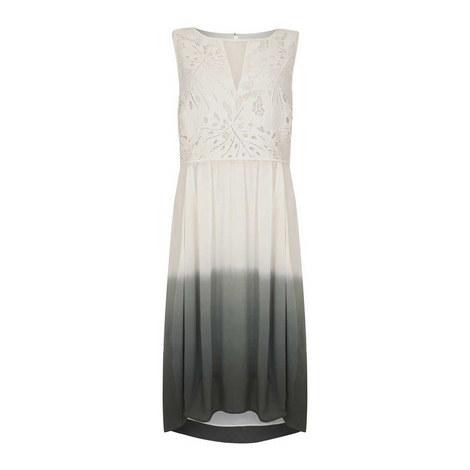 Lace Ombre Cocoon Dress, ${color}