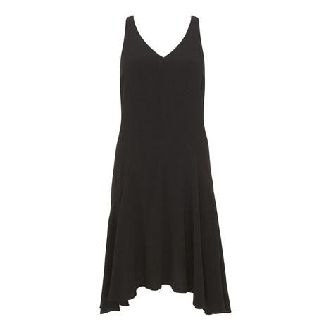 Open Back Drop Waist Dress, ${color}
